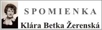 Klára Betka Žerenská