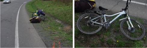 nehoda bicykla