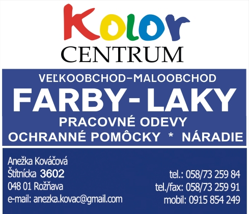COLOR CENTRUM Rožňava
