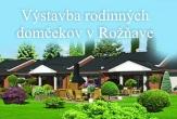 Výstavba rodinných domov v Rožňave