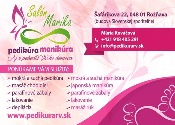Pedikúra - manikúra